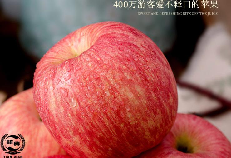 甜典宁夏沙漠富硒冰糖心苹果