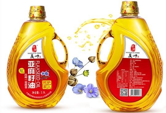 【年货优选】昊帅醇香亚麻籽油2.5L