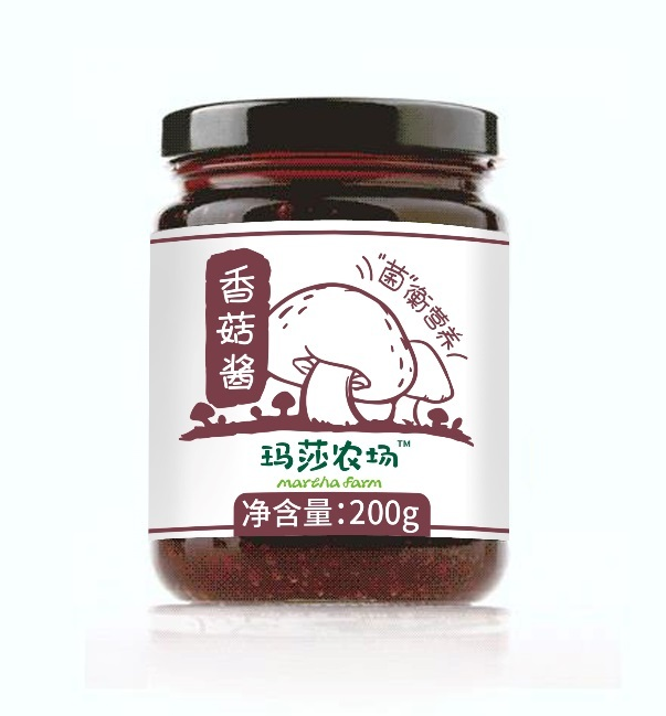 【玛莎食品】香菇酱类